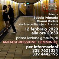 12 Feb 2020 Presentazione lezione gratuita Donna in Difesa
