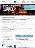 Work Experience per BIM e RENDERING