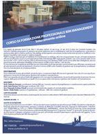 Corso di formazione BIM Management ONLINE