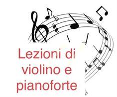 Lezioni di violino e pianoforte