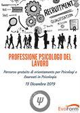 Professione Psicologo del Lavoro percorso di orientamento