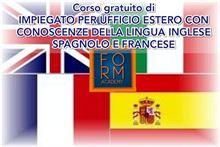 Corso impiegato con conoscenze inglese francese spagnolo