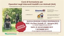 Pet Therapy - Corso Propedeutico per Operatori in Interventi