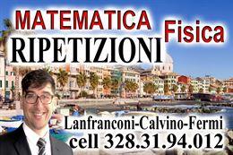 Matematica e Fisica ripetizioni private Genova Pegli/Sestrip