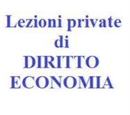 Lezioni private diritto ed economia