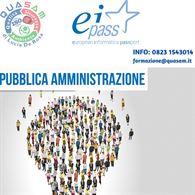 Corso online + certificazione EIPASS Pubblica Amministrazione