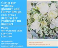 Corso Wedding planner and flower design