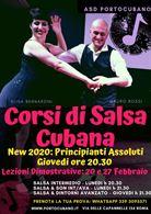Salsa Cubana Principianti Assoluti - New Febbraio 2020