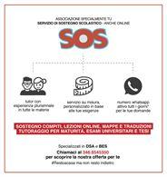 SOS SCUOLA: LEZIONI E AIUTO COMPITI ONLINE
