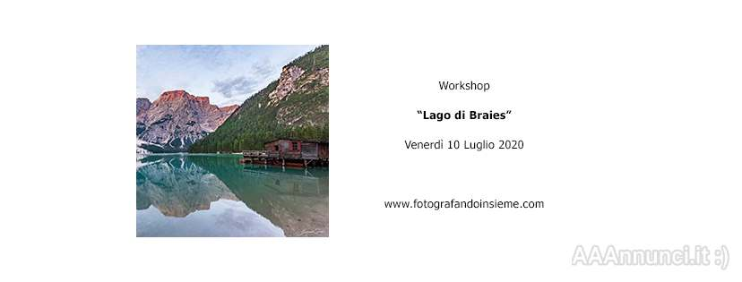 Workshop Lago di Braies