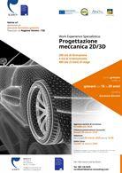 Work Experience per progettazione meccanica 2D/3D