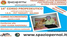 CORSO PROPEDEUTICO IAA PET THERAPY