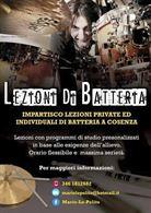 Lezioni di Musica:Batteria, Percussioni, Chitarra, Solfeggio