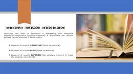 AIUTO COMPITI - RIPETIZIONI - METODO DI STUDIO