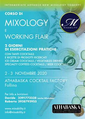 Corso Mixology & working flair