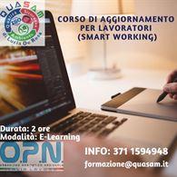Corso di Aggiornamento per Lavoratori (Smart Working)