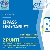 Corso EIPASS online LIM + Tablet