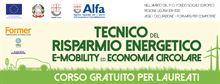 Tecnico del risparmio energetico, E-mobility ed economia cir