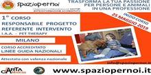 CORSO BASE RESPONSABILE PROGETTO IAA PET THERAPY
