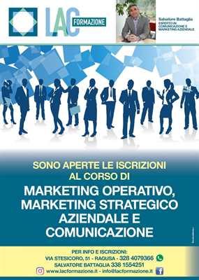 Corso Marketing: Operatività Strategia Aziendale e Comunicaz