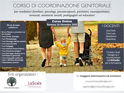 Corso ONLINE di Coordinazione Genitoriale